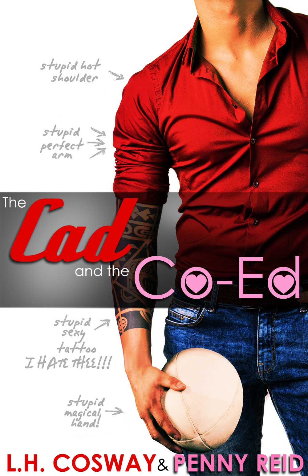 Have you seen the cover for The Cad & the Co-Ed?