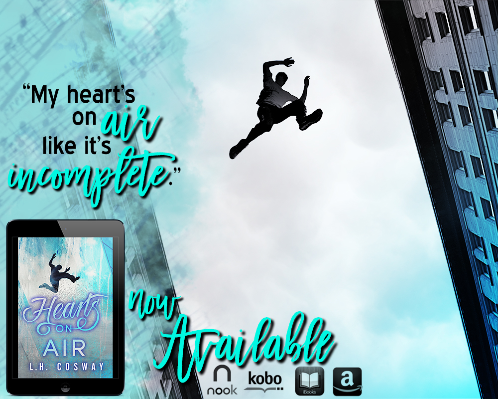 Hearts on Air is LIVE everywhere!